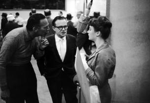 Goddard Lieberson, Jule Styne and Sandra Church (Photo: Vernon Smith)