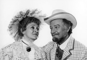 Maria Karnilova and Alfred Drake (