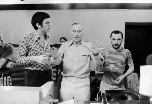 Marvin Hamlisch, Goddard Lieberson and Michael Bennett