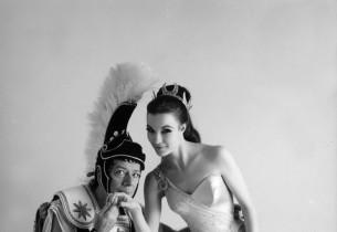 Cyril Ritchard and Janice Rule (Photo: Bob Cato)