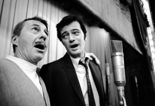 David Wayne and Robert Goulet
