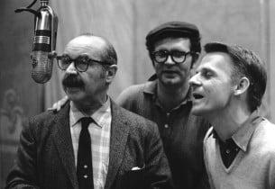 David Burns, Charles Nelson Reilly and Jerry Dodge  Photo: Henri Dauman