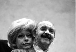 Carol Channing and David Burns  (Photo: Henri Dauman)