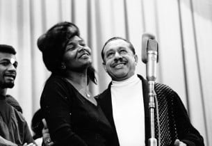 Pearl Bailey and Cab Calloway (Photo: Henri Dauman)