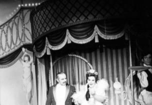 David Burns and Mary Jo Catlett (as Ernestina Money)