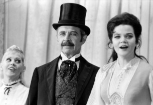 Sondra Lee, David Burns and Eileen Brennan