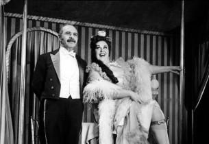 David Burns with Mary Jo Catlett