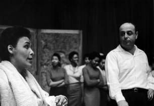 Lena Horne, Lehman Engel and cast
