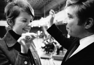 Marlyn Mason with composer Elmer Bernstein