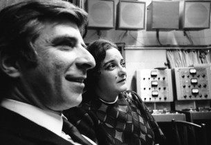 The composing team: Elmer Bernstein (music), Carolyn Leigh (lyrics)  (Photo: Hen