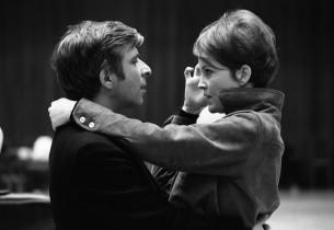 Elmer Bernstein with Marlyn Mason