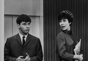 Robert Morse and Michele Lee (Photo: Stanley Green)