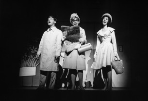"""""""Robert Morse, Claudette Sutherland and Bonnie Scott singing """"""""Been A Long Day"""""""""""