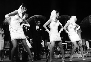 "Dancers performing the number ""Paris Original"" (Photo: Friedman-Abeles)"