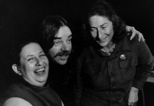 Helen Miller, Tom O'Horgan and Eve Merriam