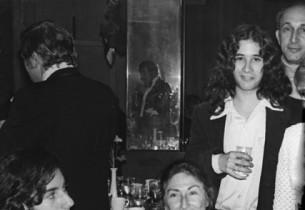 Dinner before opening night of Inner City: L-R: Dee Michel, Eve Merriam, Guy Mic