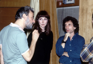 Stephen Sondheim, Joanna Gleason and Chip Zien