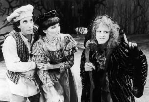 Chip Zien (The Baker), Joanna Gleason (The Baker's Wife) and Bernadette Peters (