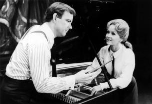 Monte Markham and Debbie Reynolds