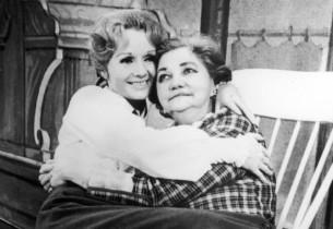 Debbie Reynolds and Patsy Kelly
