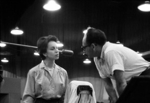 Elizabeth Seal and musical director Stanley Lebowsky (Photo: Vernon Smith)