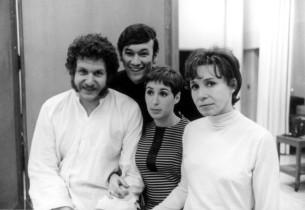 Mort Shuman, Shawn Elliott, Alice Whitfield and Elly Stone