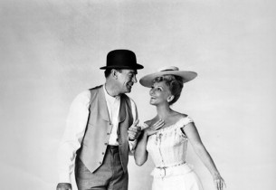Dennis O'Keefe and Mary Martin