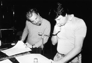 Stephen Sondheim and Jay David Saks