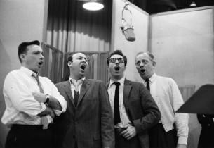 Earl Hammond, Arthur Rubin, Rico Froehlich and Melvyn Douglas (Photo: Don Hunste