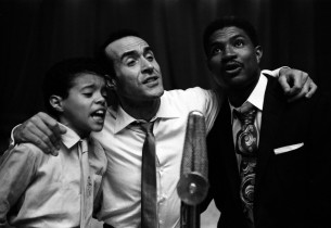 Augustine Rios, Ricardo Montalban and Ossie Davis