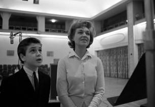 James Harvey and Risë Stevens