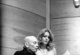 Yul Brynner and Constance Towers