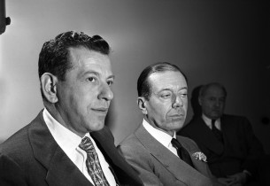 Manny Sachs and Cole Porter (Photo: Eileen Darby/Graphic House)