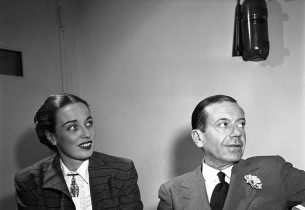 Patricia Morison and Cole Porter (Photo: Eileen Darby/Graphic House)