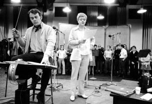 Show conductor Donald Pippin and Angela Lansbury (Photo: Fred Lombardi)