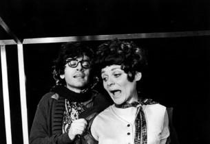 Austin Pendleton and Fredericka Weber