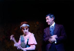 Lotte Lenya and Jack Gilford