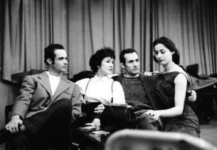 Ken Le Roy, Chita Rivera, Larry Kert and Carol Lawrence