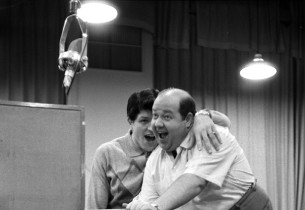 Peter Palmer and Stubby Kaye