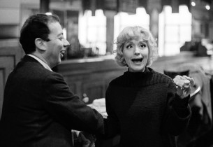 Composer Cy Coleman and Virginia Martin (Photo: Marvin Lichtman)