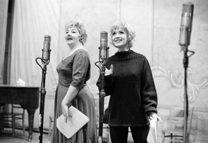 Nancy Andrews and Virginia Martin (Photo: Marvin Lichtman)