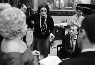 Lyricist Carolyn Leigh and composer Cy Coleman (Photo: Marvin Lichtman)