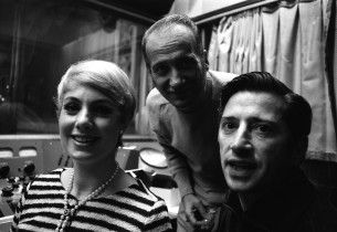 Shirley Jones, Luigi Creatore and Hugo Peretti