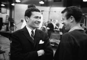 Jerry Herman and Skip Redwine