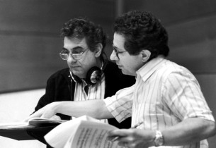 Placido Domingo and Thomas Z. Shepard