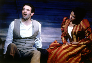 Anthony Crivello and Audra McDonald (Photo:Joan Marcus)