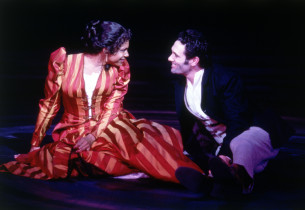 Audra McDonald and Anthony Crivello (Photo:Joan Marcus)