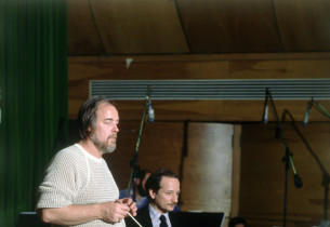 Conductor Paul Gemignani and orchestrator Jonathan Tunick