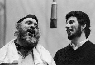 Zero Mostel and Bert Convy (Photo: Graphic House)