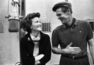 Nanette Fabray and Robert Ryan